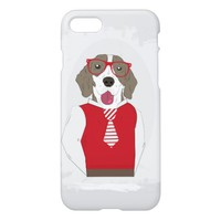 Hipster Dog iPhone 8/7 Case