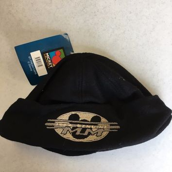 BRAND NEW FRESH CAPS MICKEY MOUSE DISNEY BLACK BUCKET HAT SHIPPING