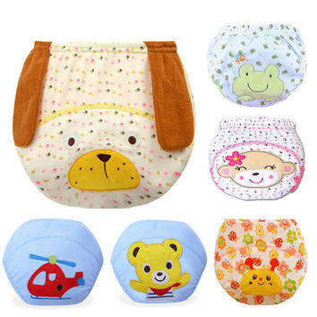 1 Piece Baby Training Pants Baby Diaper Reusable Nappy Washable Diapers Cotton Learning