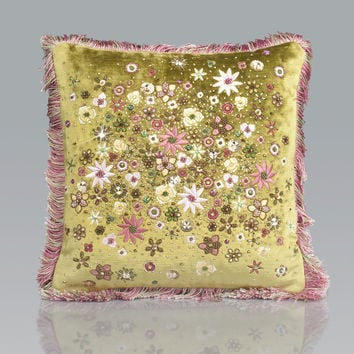 Mille Fiori PIllow - Jay Strongwater