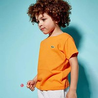 Lacoste Children Girls Boys Casual Shirt Top Tee