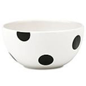 kate spade new york All in Good Taste Deco Dot Fruit, Salad Bowl
