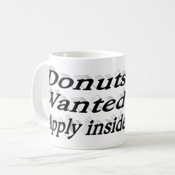 Donuts Wanted Apply Inside 3D Mug