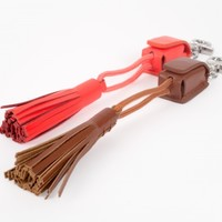 The Tassel Charging Cable Keychain - The Photojojo Store!