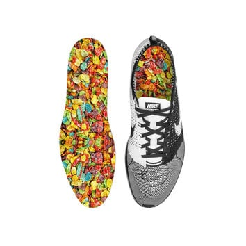 Fruity Pebbles Cereal Custom Insoles