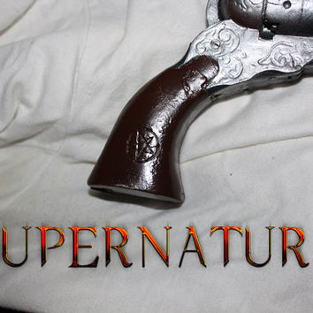 Supernatural the COLT Replica Pistol Prop by travisdesigns on Etsy
