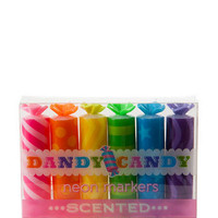 DANDY CANDY SCENTED NEON MARKERS