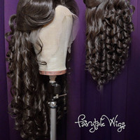Belle Wig - Theme Park Style by Fairytale Wigs