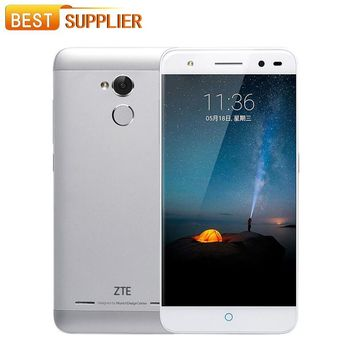 ZTE Blade A2 MT6750 Octa Core Android 5.1 2GB RAM 16GB/32GB ROM 5.0 Inch 13.0MP Dual SIM Fingerprint 4G LTE Mobile Phone