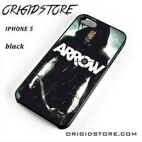 Arrow Oliver Queen Stephen Amell Wicked Town For Iphone 5 Iphone 5S Case UY