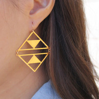 Ventana Double Dome Earring