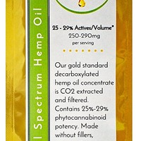 1000mg Full Spectrum Hemp Oil Concentrate 25 - 29%
