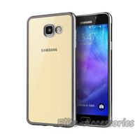 samsung galaxy A310 A3 2016 A510 A5 2016 A710 A7 Ultra Slim Crystal Soft Silicon Clear TPU Case Transparent Back Cover