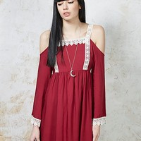 Hearts and Bows Shiloh Lace Trim Dress | ARK