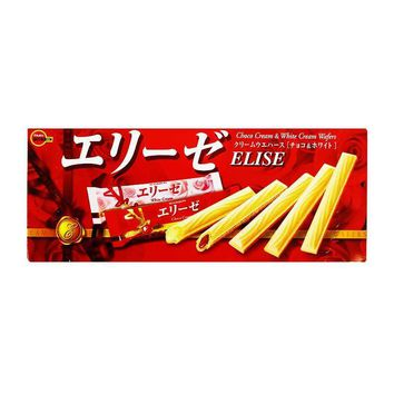 Elise Japanese Chocolate Wafers by Bourbon, 3.8 oz (110 g)