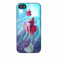 Ariel The Little Mermaid Galaxy iPhone 5s Case