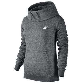 Nike NSW Funnel Fleece - Women's at Lady Foot Locker