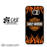 Harley Davidson Flame Logo DEAL-5043 Samsung Phonecase Cover For Samsung Galaxy S7 / S7 Edge