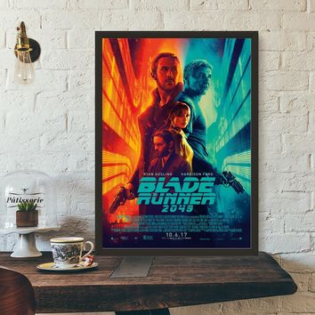 Blade Runner 2049 Vintage Movie Wall Art Wall Decor Silk Prints Art Poster Paintings For Living Room No Frame