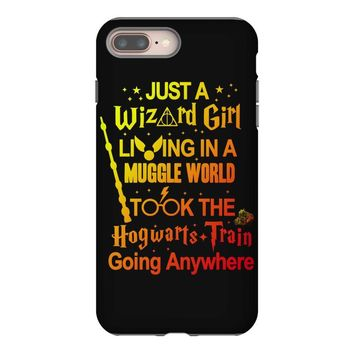 Just A Wizard Girl Living In A Muggle World iPhone 8 Plus