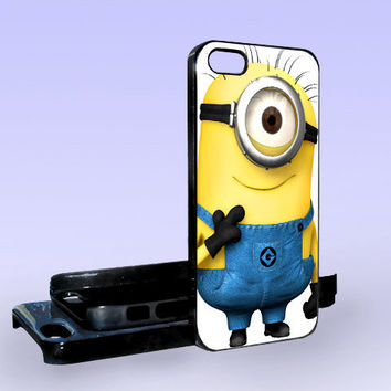 Despicable Me Minion - Print on Hard Cover - iPhone 5 Case - iPhone 4/4s Case - Samsung Galaxy S3 case - Samsung Galaxy S4 case