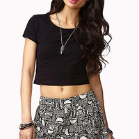 Tribal Print Shorts | FOREVER 21 - 2037380655
