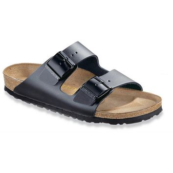 Birkenstock Classic Arizona Narrow Fit Smooth Leather Black - Beauty Ticks