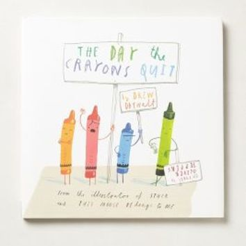 The Day The Crayons Quit by Anthropologie in Multi Size: One Size Gifts