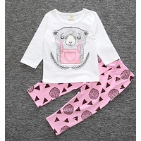 Infant Girls Cub 2 Piece Pants Set