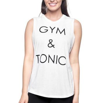 Gym and Tonic Muscle Tee