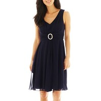Jessica Howard Ruched-Waist A-Line Dress