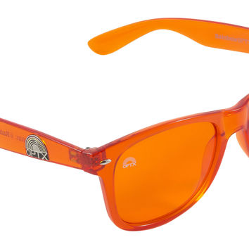 Orange Lens / Wayfarer Frame