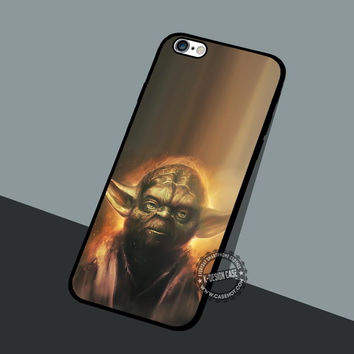 Yoda Portrait Movie - iPhone 7 6 5 SE Cases & Covers