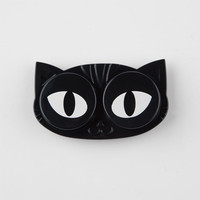 Cat Eyes Contact Lens Case Black One Size For Women 26460310001