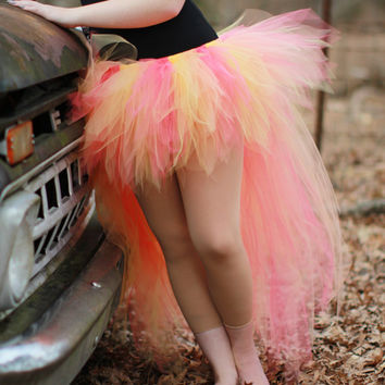 Trashy Bustle Tutu,. Adult Tutu, Wedding Tutu, Cosplay Tutu, Role Play Tutu, Women's Tutu, Party Tutu, Rave Tutu