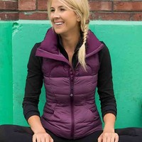 fluffin' awesome vest | women's jackets & hoodies | lululemon athletica
