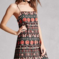 Motel Abstract Print Cami Dress