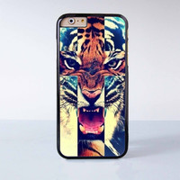 "Tiger plastic phone case for iPhone 6 (4.7"")  More case style can be selected"