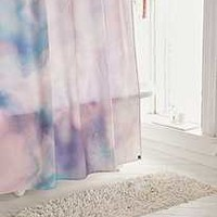 Chelsea Victoria For Deny Unicorn Marble Shower Curtain | Urban Outfitters