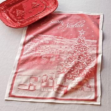 Italian Buon Natale Kitchen Towel | Sur La Table