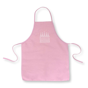 Birthday Cake Children's Apron