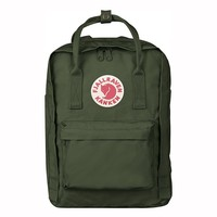 "Fjallraven Kanken Laptop 13"" in Forest Green"