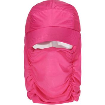 WENDYWU Sun Protection Fishing Flap Hat Neck Protection CapSun Shield Mask for Baseball,Backpacking,Cycling,Hiking, Fish