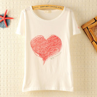 Love Graffiti Slim T-shirt