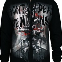 The Walking Dead Dead Inside Official Licensed Authentic AMC Adult Hoodie Zip-UP M