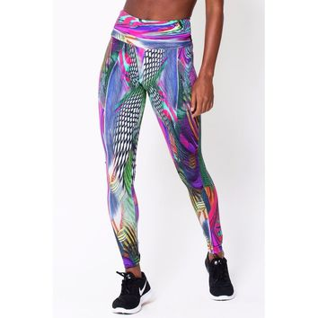 Women's Holographic Print Legging