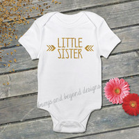 Little Sister Shirt Big Sister Shirt Sibling Shirts Glitter Sister Shirts New Baby Announcement Shirt Photo Prop Sibling Shirt 016