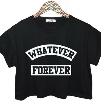 Whatever Forever Crop Top