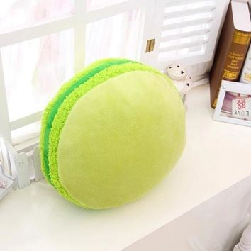 Throw  Macarons Pillow Cushion Plush Nap Toy