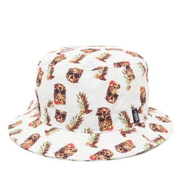 Vans Drained And Confused Bucket Hat - Mens Backpack - Pineapple